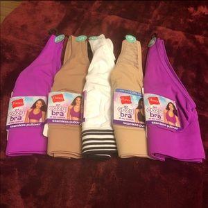 """🌺 """"Bundle"""" 5 New Womens Cozy Bra Sz:Small🌺"""